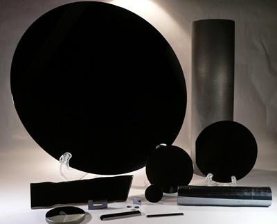 Black Optical Coating Black Light Absorbing Coatings Material